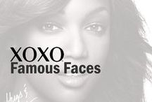 "XOXO | Famous Faces / The iconic ""Hugs & Kisses XOXO"" campaign first debuted in the early 90's featuring supermodel Tyra Banks. Renowned supermodels including Christy Turlington (1996), Amber Valetta (1997), Claudia Schiffer (1998), Alessandra Ambrosio (2006), and Miranda Kerr (2009) have also graced our campaign through the years, creating a long-standing tradition of featuring the most famous faces in fashion."