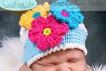 Flower Beanies / by Castlegate Crochet