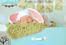Diaper Cover and Hat Sets / by Castlegate Crochet