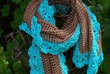 Crochet Shawls and Scarfs