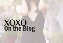 XOXO | On the Blog / Blogger's style XOXO for runway to real-way fashion