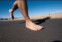 barfuß laufen / #Barefoot Runner #Shoes vs barefoot #Exercises #Jogging #Running