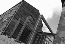 Tolson / Conversion of Barn and former piggery to form two houses, in the grounds of The Dyehouse at Armitage Bridge, Huddersfield. Architecture, Structural Design, Interior Design & Project Management by One 17 Design.