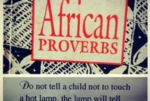 African Wise Sayings And Proverbs