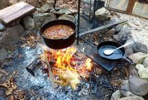 Outdoor cooking / Let's eat outdoors!