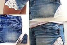 DIY Fashion / Lots of tips and great ideas for those who love to customise and create their own clothes.