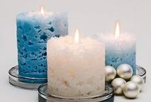 Crafts with Candles / All sorts of ways to add some light!