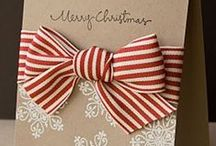 DIY Holiday Cards / Inspiring paper crafts that you can make, too!