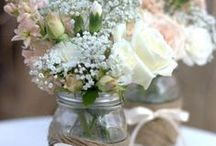 Crafty Weddings / Go DIY crazy with some crafty inspirations for those budget or craft enthusiast weddings