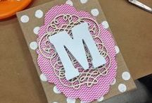 Monogram Crafts / DIY ideas to personalize! / by Craft Attitude