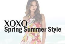 XOXO | Spring Summer Style / XOXO Spring/Summer 2015 campaign with Chrissy Teigen #spring #summer #fashion #style #ChrissyTeigen #celebrity #lace #dress #romper