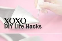 XOXO | DIY Life Hacks / From bringing life to scuffed shoes to keeping your phone from dying XOXO has you covered with these great #LifeHacks #GirlHacks #FashionHacks