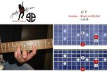 Chords photos & tabs - guitarelements / There are 22 type of chords. Some chords types have 10 positions or shapes, others have 15 and some only have 5 positions or shapes. Only showing in the key of C. Want to see the remain keys?................... Visit  http://guitarelements.com/Gallery - Photos & Tabs are propriatery property of guitarelements