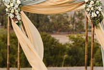 Wedding gazebos / Design and decoration inspiration Goa beach weddings