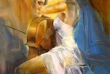 Art -  Music in Art. # (Part I)