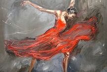 "Art - ""The Passion Of Flammenco"" / ""You Dance Secretly Inside My Heart, Where No One Else Can See."" —Rumi"