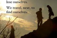 Travel Quotes / Inspirational travel quotes to induce wanderlust and send you packing for your next adventure.