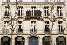 Traditional facades