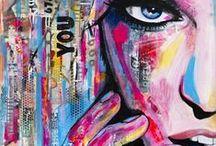 my paintings by WerkaandeMuur ☆ / Betaalbare reproducties van mijn schilderijen. Kies zelf het formaat en materiaal