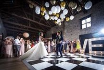 Real Bride's & Groom's at the Granary Barns / Some great snaps of our gorgeous couples celebrating in the barns.