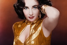 """Elizabeth Taylor / Dame Elizabeth Rosemond """"Liz"""" Taylor, DBE (February 27, 1932 – March 23, 2011) was a British-American[2] actress. From her early years as a child star with MGM, she became one of the great screen actresses of Hollywood's Golden Age. As one of the world's most famous film stars, Taylor was recognized for her acting ability and for her glamorous lifestyle, beauty, and distinctive violet eyes. / by Patrick Aubertin"""