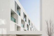 White Architecture / Modern house design architecture