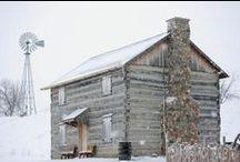 Live Like Lincoln: Log Cabins