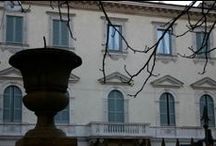 Restoration Historical palaces in Milan. Italy / Monumental building. Project of facades restoration by Fabio Carria architect
