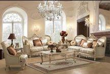 Living Room Sets / by Sophia Nelson