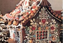 { gingerbread house }