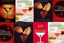 reading list / cocktail books to add to our collection