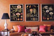 Botaanika sisekujunduses / botanical decorating / Olen sõltuvuses botaanilistest joonistustest ja elementidest sisekujunduses ja disainis / by Maren Toom