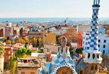 Places in Barcelona / Get inspired for your next trip to Barcelona to include the Güell Park or any other mesmerizing masterpiece of Gaudi.