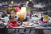 bohemian or mix and match wedding / #wedding#boemian#mix#and#match