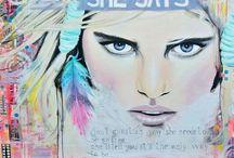 Webshop kunst Janet Edens ☆ / Online kun je mijn schilderijen, kunstkaarten, posters en andere goodies kopen. Eenvoudig te bestellen en veilig te betalen.