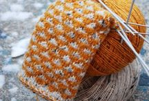 Knit projects and yarn