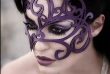 Millinery. Masks and crowns