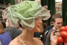 Millinery. Gorgeous draping