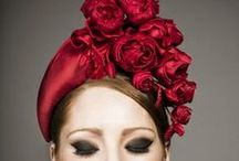 Millinery. In red