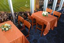 Detroit Tigers Baseball - Event Photos / We work closely with Comerica Park and provide linens for a variety events, including but not limited to ALCS games and even the World Series!