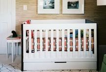 Nurseries + Kid's Rooms / Design ideas for a nursery or kid space that appeals to both little ones - and grown-ups.