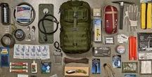 Bug Out Bags / 72 Hour Kits / Prepper Gear / Storm Kits / Bug Out Bags, 72 Hour Kits, Emergency Preparedness Kits, Prepper Kits, Survival Kits, EDC.  Check out our other Pinterest boards for more Prepper ideas!
