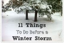 Winter Preparedness - Storm Kits / Winter Preparedness - Check out some of my other Pinterest boards: Bug Out Bags, Food Storage, other Natural Disasters, Budget Prepping, Survival Gardening, Health Remedies, Prepper Books, Paracord, Pallets, and more...