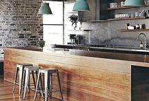DIY Industrial Kitchen