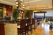 DIY Hawaii inspired kitchen