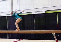 Gymnastics / 'If Gymnastics Was Easy They'd Call It   Football'.