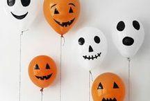 Halloween / Deko-Ideen und Einladungskarten für Halloween