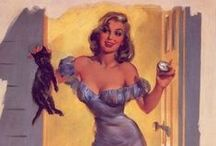 "Pin-up`s best of Joyce Ballantyne / Pin-up`s made by Joyce Ballantyne 1918-2006 Joyce Ballantyne was a noteworthy member of the ""girl's club"" among pin-up artists - her women were often more natural than the studiously coy poses of her male counterparts."