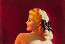 "Pin-up`s best of Art Frahm / Pin-up`s made by Art Frahm 1907-1981 Art Frahm is best known for his ""ladies in distress"" pictures involving beautiful young women whose panties mysteriously fall to their ankles in very public places."