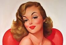 Pin-up`s best of Baron von Lind / Pin-up`s made by Baron von Lind b.1937 Baron von Lind's pin-up girls all share a sly smile and devilish sparkle in their eye.